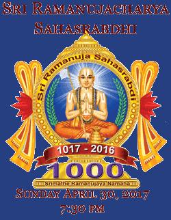 Sri Ramanujacharya Sahasrabdhi