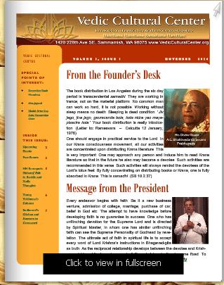 VCC News Letter